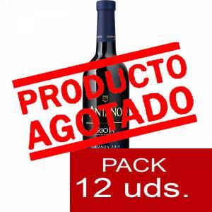 4 Vino - Vino RIOJA CRIANZA Antaño 37.5 cl CAJA COMPLETA 12 UDS