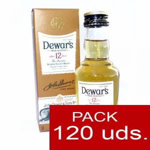 6 Whisky - Whisky Dewar´s White Label 12 años ed. Especial CAJA DE 120 UDS