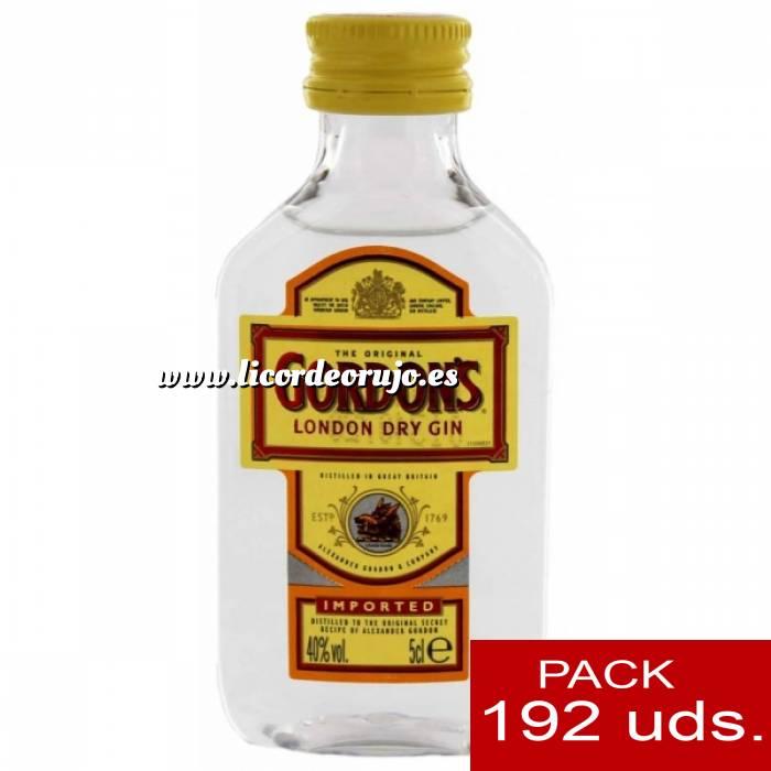 Imagen 1 Ginebra Ginebra Gordon´s London Dry Gin 5cl - PT CAJA DE 192 UDS