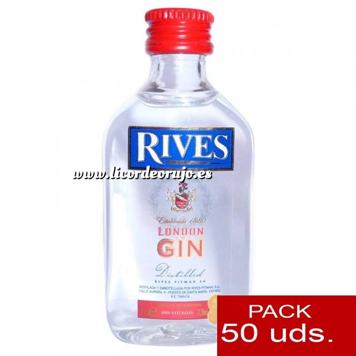 Imagen 1 Ginebra Ginebra Rives London Gin 5cl - PT CAJA DE 50 UDS