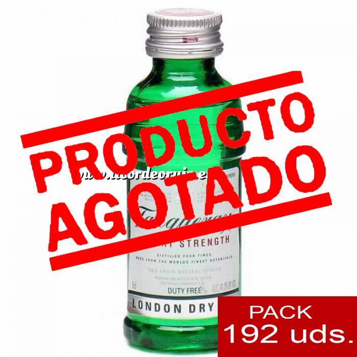 Imagen 1 Ginebra Ginebra Tanqueray Export Strength 5cl - PT CAJA DE 192 UDS