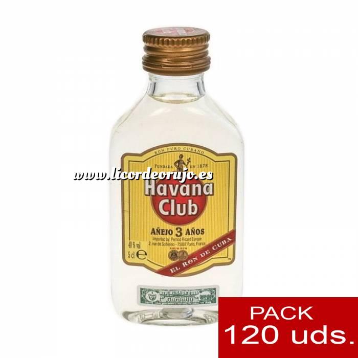 Imagen 3 Ron Ron Havana Club Añejo 3 años 5cl - PT CAJA DE 120 UDS