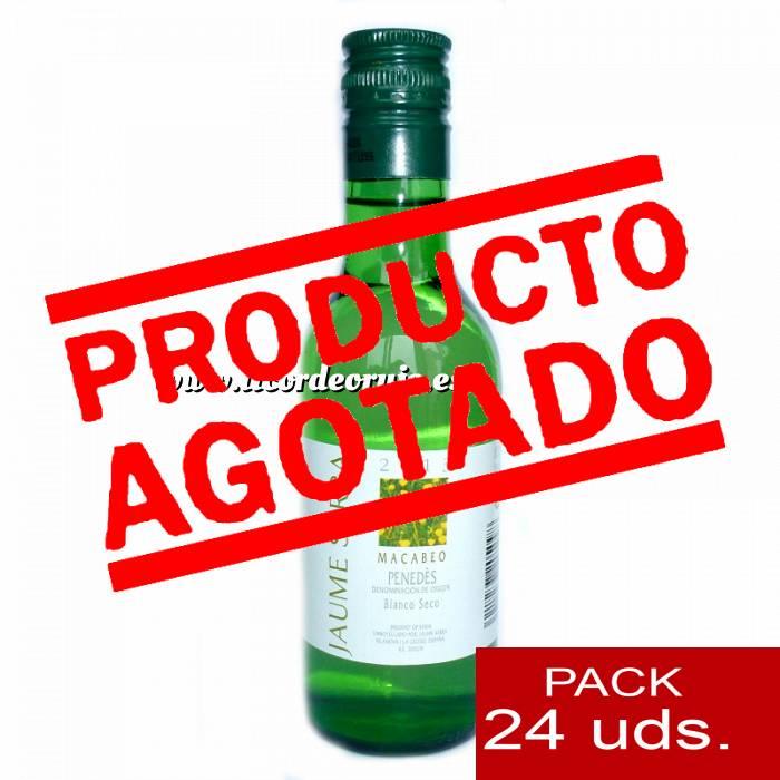 Imagen 4 Vino Vino Blanco Jaume Serra - Penedés 18.7 cl CAJA COMPLETA 24 UDS