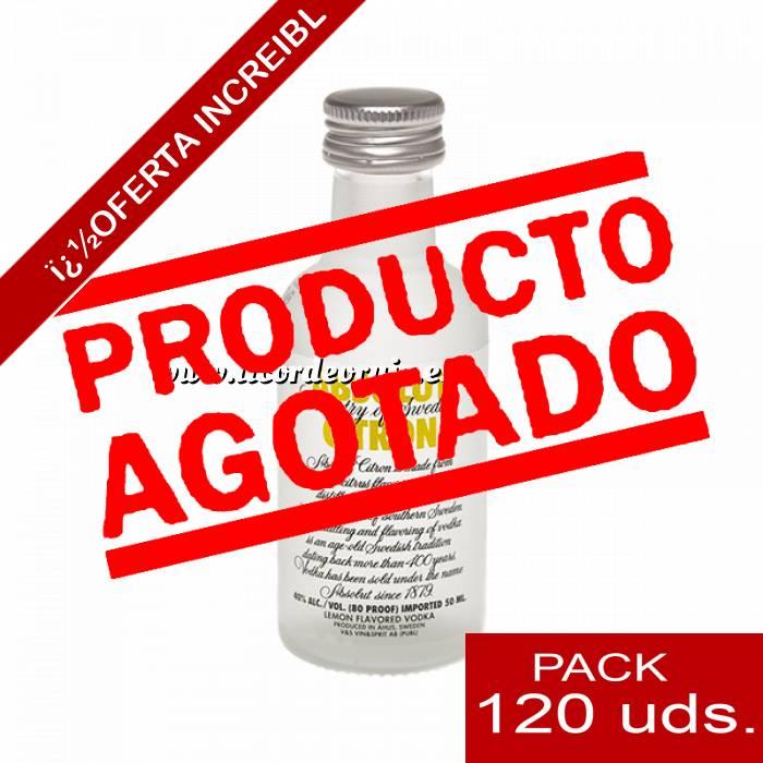 Imagen 5 Vodka Vodka Absolut Citron 5cl CAJA DE 120 UDS