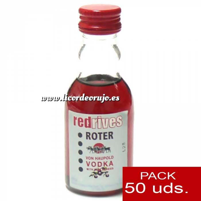 Imagen 5 Vodka Vodka Red Rives 5cl CAJA DE 50 UDS
