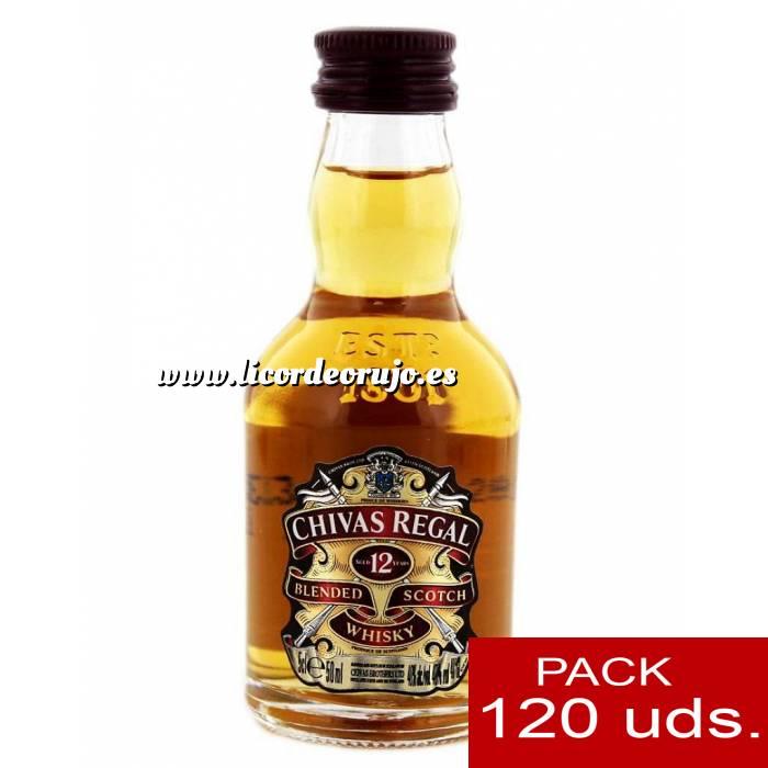 Imagen 6 Whisky Whisky Chivas Regal 12 años Blended 5cl CAJA DE 120 UDS
