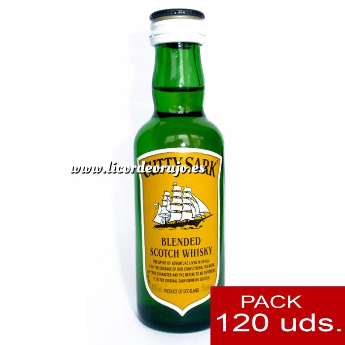 Imagen 6 Whisky Whisky Cutty Sark 5cl CAJA DE 120 UDS