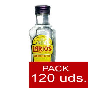 1 Ginebra - Ginebra Larios Dry Gin 5cl - PT CAJA DE 120 UDS