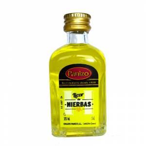 2 Licor, Orujo y Cremas - Mini Orujo de hierbas Panizo 5cl