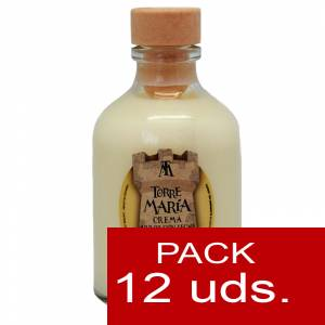 2 Licores, orujos y crema - Crema de Arroz con leche ROCÍO 50 (Torre María) - CAJA DE 12 UDS