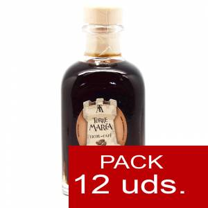 2 Licores, orujos y crema - Licor de Café Torre María FRASCA 100 - CAJA DE 12 UDS
