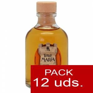 2 Licores, orujos y crema - Licor de Caramelo ROCÍO 50 (Torre María) - CAJA DE 12 UDS
