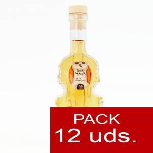2 Licores, orujos y crema - Licor de Caramelo Torre María VIOLÍN - CAJA DE 12 UDS
