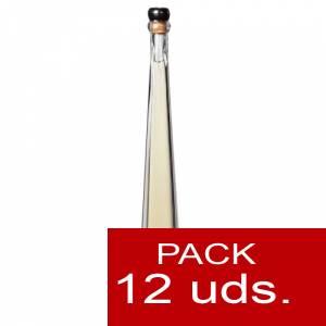 2 Licores, orujos y crema - Orujo de Hierbas Villa Lucía PIRÁMIDE-EDU 10 cl. CAJA DE 12 UDS (Últimas Unidades)