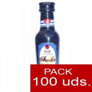 3 Ron - Ron Arecha Elixir de Cuba 5cl - PT CAJA DE 100 UDS