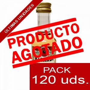 3 Ron - Ron Bacardi 4 años 5cl CAJA DE 120 UDS