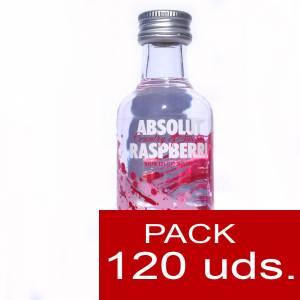 Imagen 5 Vodka Vodka Absolut Raspberri 5cl CAJA DE 120 UDS