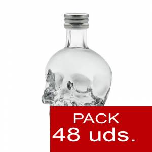5 Vodka - Vodka Crystal Head 5cl. CAJA 48 UDS