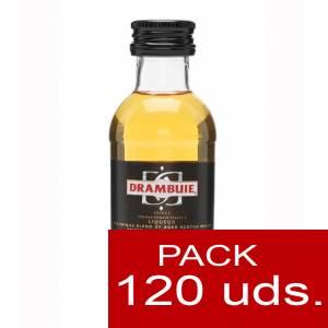 6 Whisky - Licor Escocés Drambuie 5cl CAJA DE 120 UDS