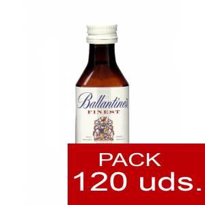 6 Whisky - Whisky Ballantines Finest 5cl CAJA DE 120 UDS