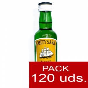 6 Whisky - Whisky Cutty Sark 5cl CAJA DE 120 UDS