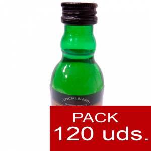6 Whisky - Whisky DYC 8 años. 5cl CAJA DE 120 UDS