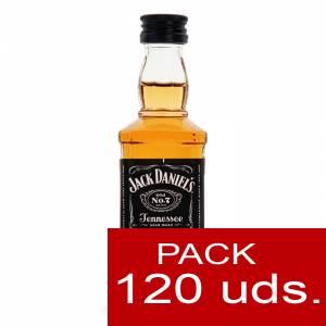 6 Whisky - Whisky Jack Daniels CRISTAL 5cl CAJA DE 120 UDS (PROMOCION PREMIUM)
