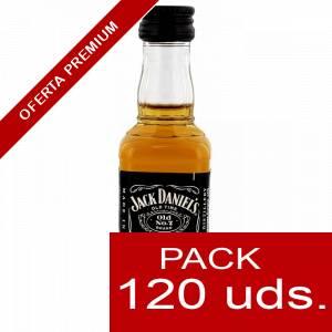 6 Whisky - Whisky Jack Daniels PLASTICO 5cl CAJA DE 120 UDS