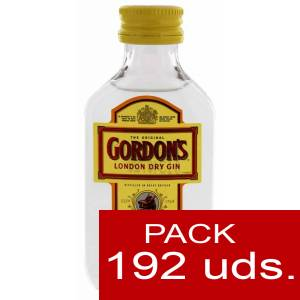 Ginebra - Ginebra Gordon´s London Dry Gin 5cl CAJA DE 192 UDS