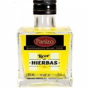 Orujos - Mini orujo de hierbas Panizo 10cl