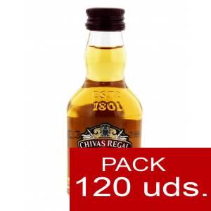 Whisky - Whisky Chivas Regal 12 años Blended 5cl CAJA DE 120 UDS