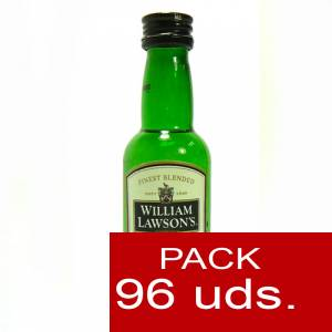 Whisky - Whisky William Lawson 5cl CAJA DE 96 UDS